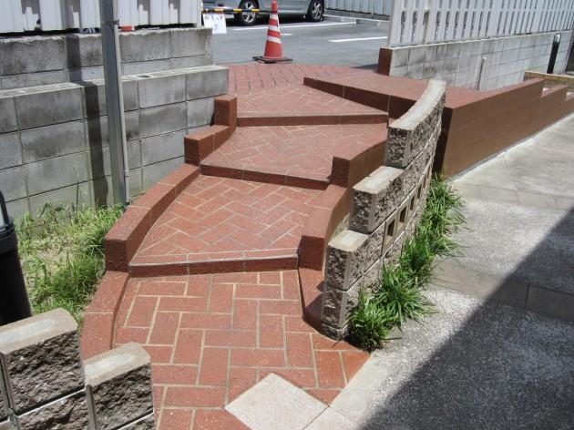 階段ノンスリップ工法
