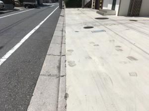コンクリートの汚れ