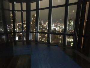東京タワー蓄光石 施工