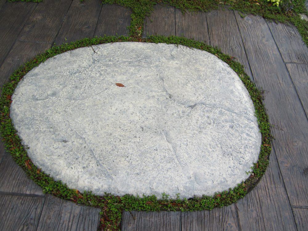 石調スタンプコンクリート