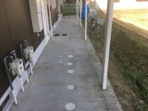 汚れたコンクリートの直し