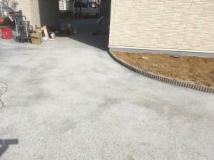 自然石樹脂舗装