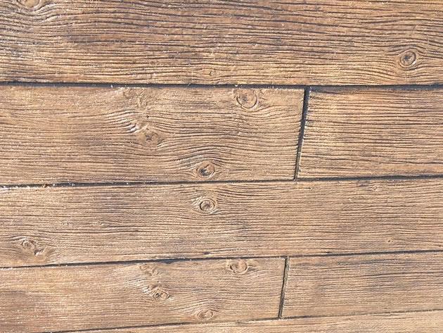 枕木・木目調の塗り壁 グレイン06