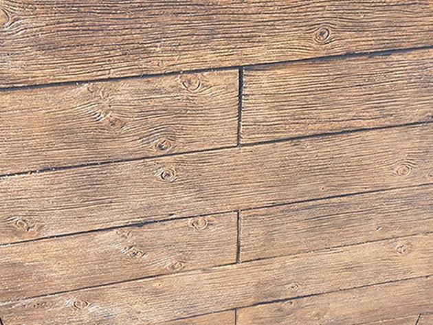 枕木・木目調の塗り壁 グレイン08